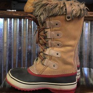 Sorel Joan of Arc winter boots, warm waterproof 6